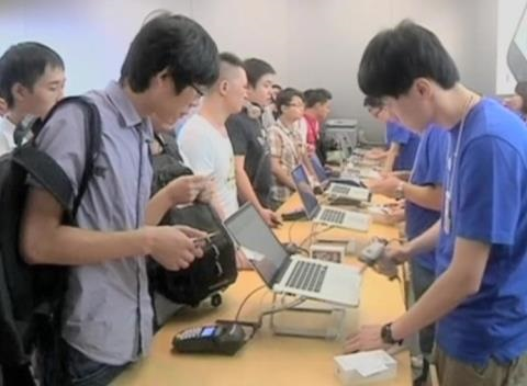 News video: China Sales Drive Strong Apple Results