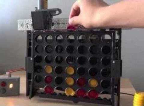 News video: Robot Thrives at Connect Four