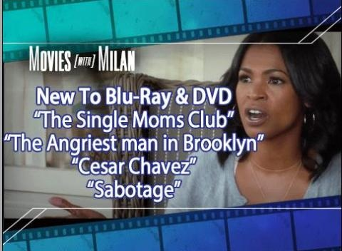 News video: New On Blu Ray & DVD: The Single Mom's Club, Sabotage, and More