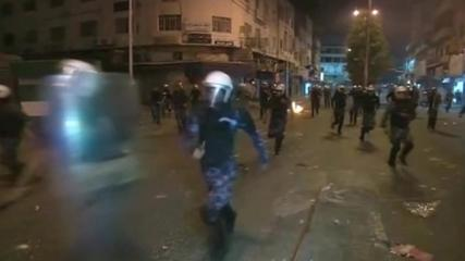 News video: Palestinian and Israeli security forces clash with Palestinian youths